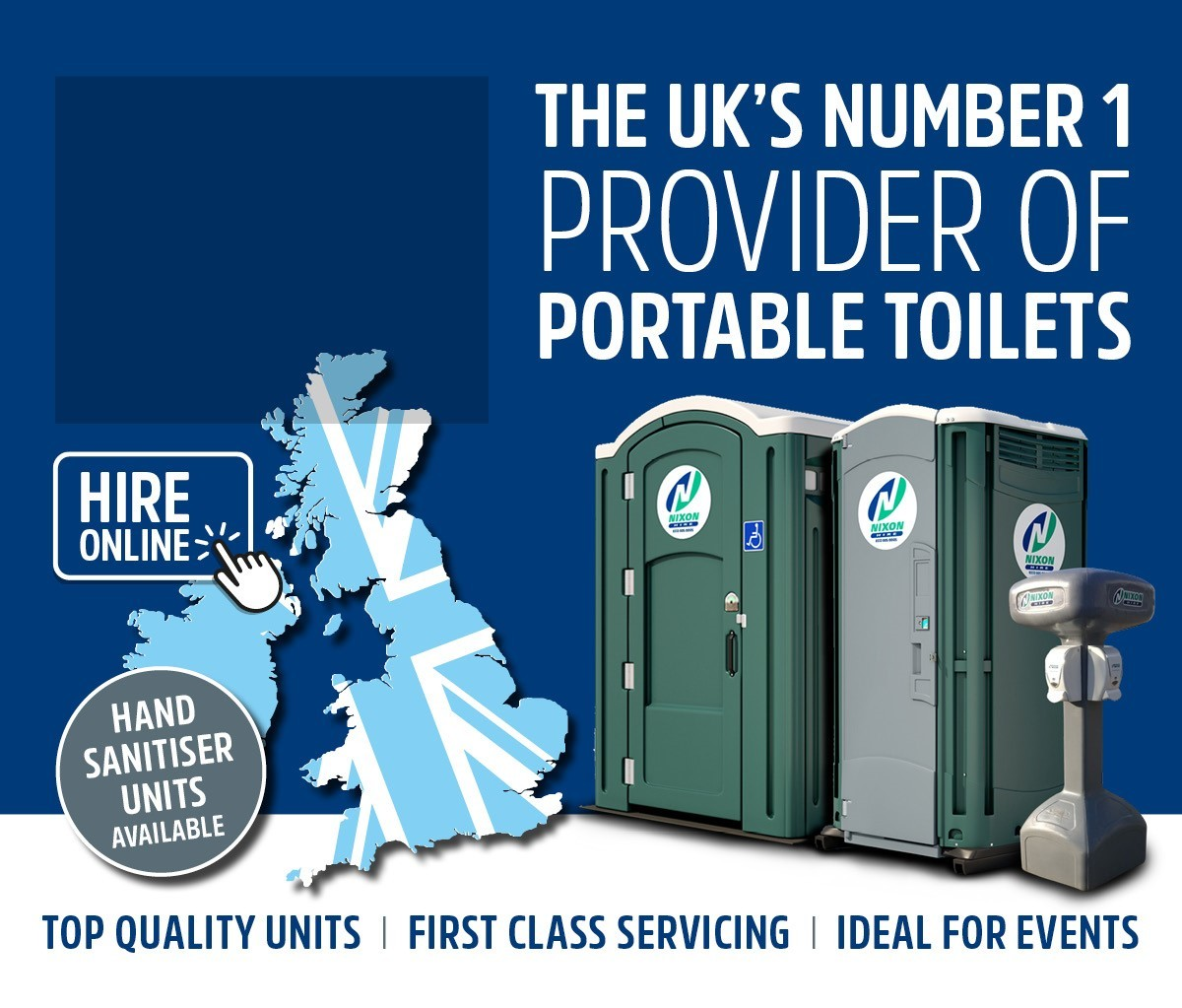portable toilets, chemical toilets