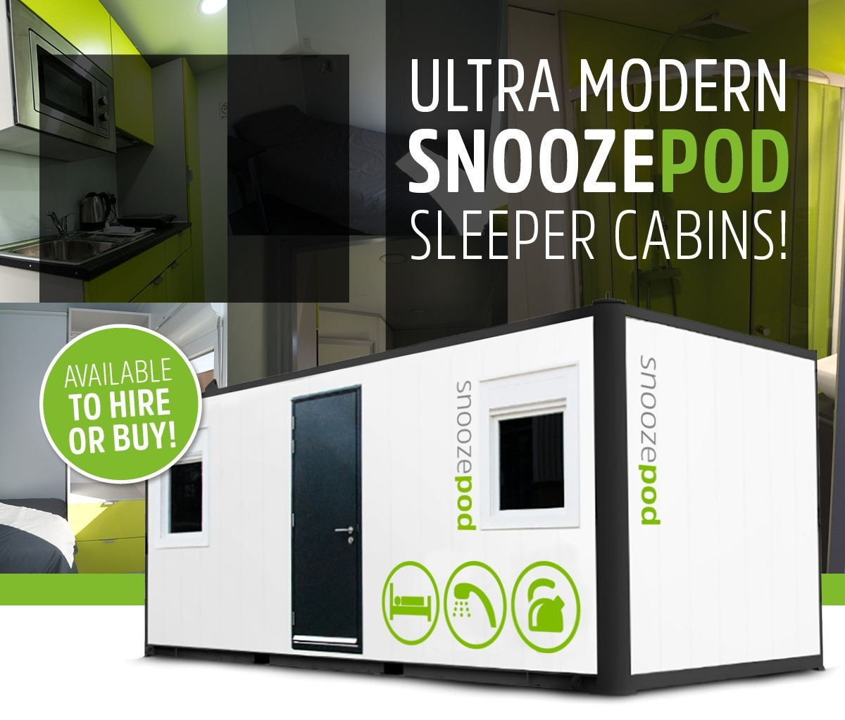 snoozepod sleeper cabin